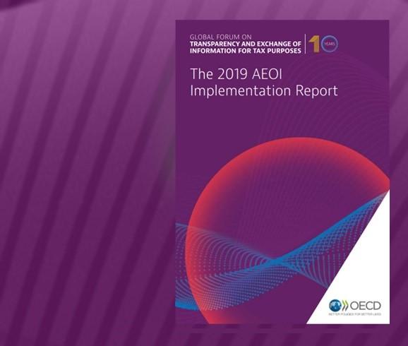 Запись блога: ОЭСР опубликовала Отчёт об имплементации Стандарта AEOI за 2019 год